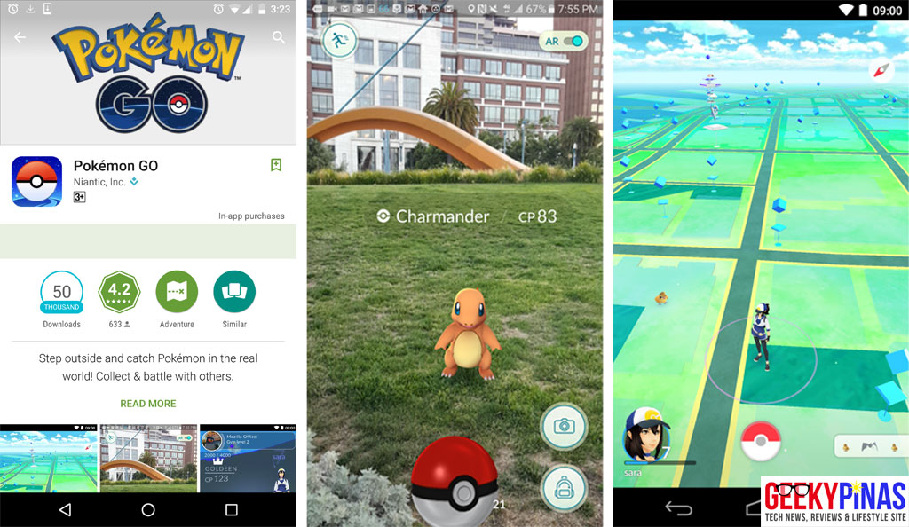 Pokemon Go for Android & iOS!