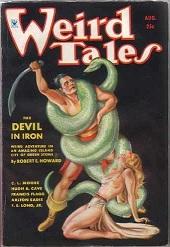 A Weird Tales magazin Conan novellával