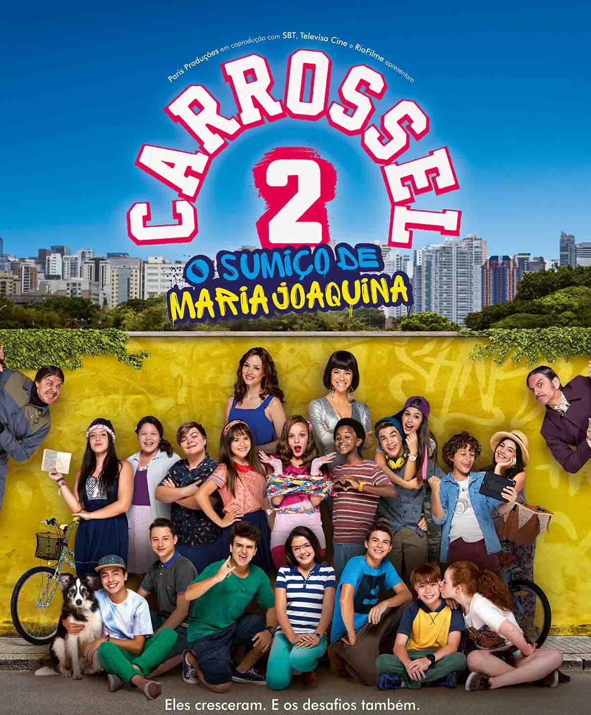 Carrossel 2: O Sumiço de Maria Joaquina Torrent – WEBRip 720p e 1080p Nacional (2016)