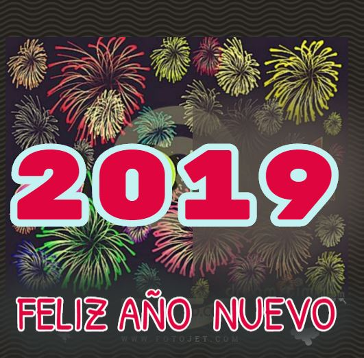 Feliz año nuevo 2019 para Facebook