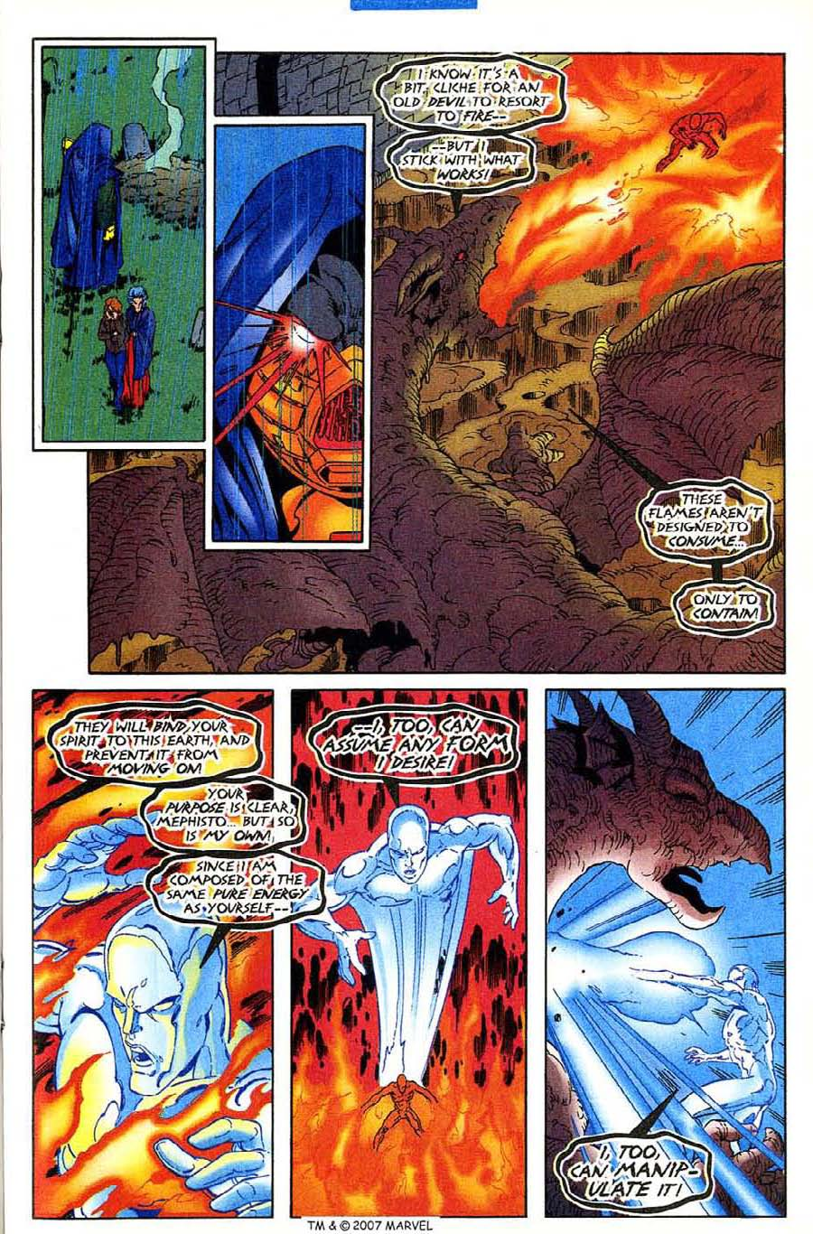 Read online Silver Surfer (1987) comic -  Issue #136 - 23