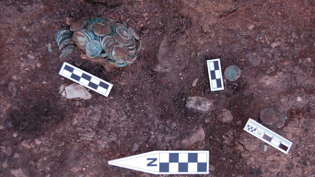 Roman coin hoard found at Spanish mining site