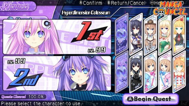 Hyperdimension Neptunia U Action Unleashed PC Save