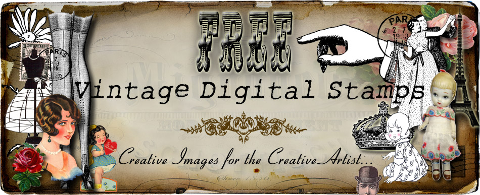 **FREE ViNTaGE DiGiTaL STaMPS**