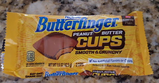 Review BUTTERFINGER PEANUT BUTTER CUPS