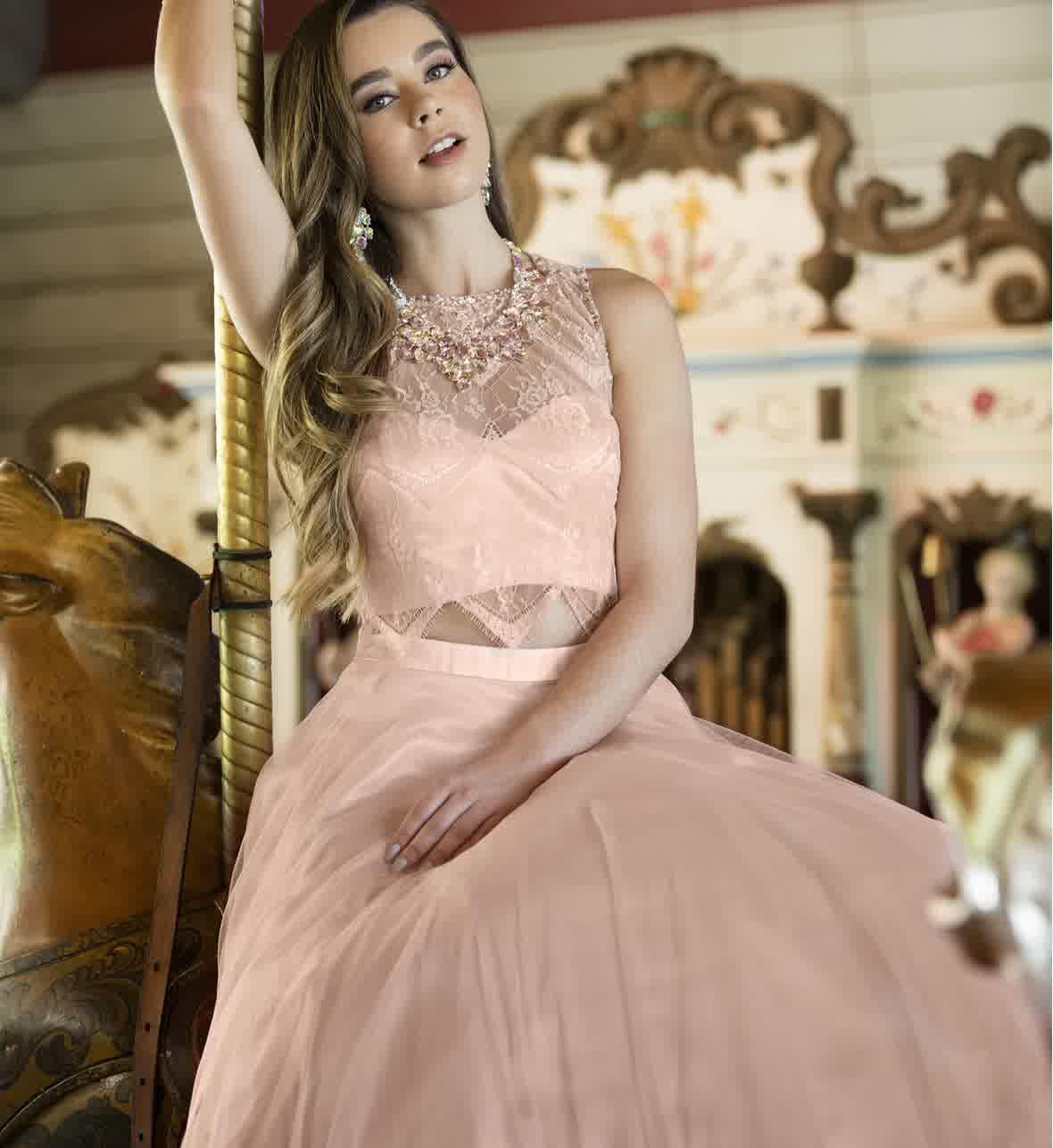 Shabby Chic Pastel Romantic Prom Dresses