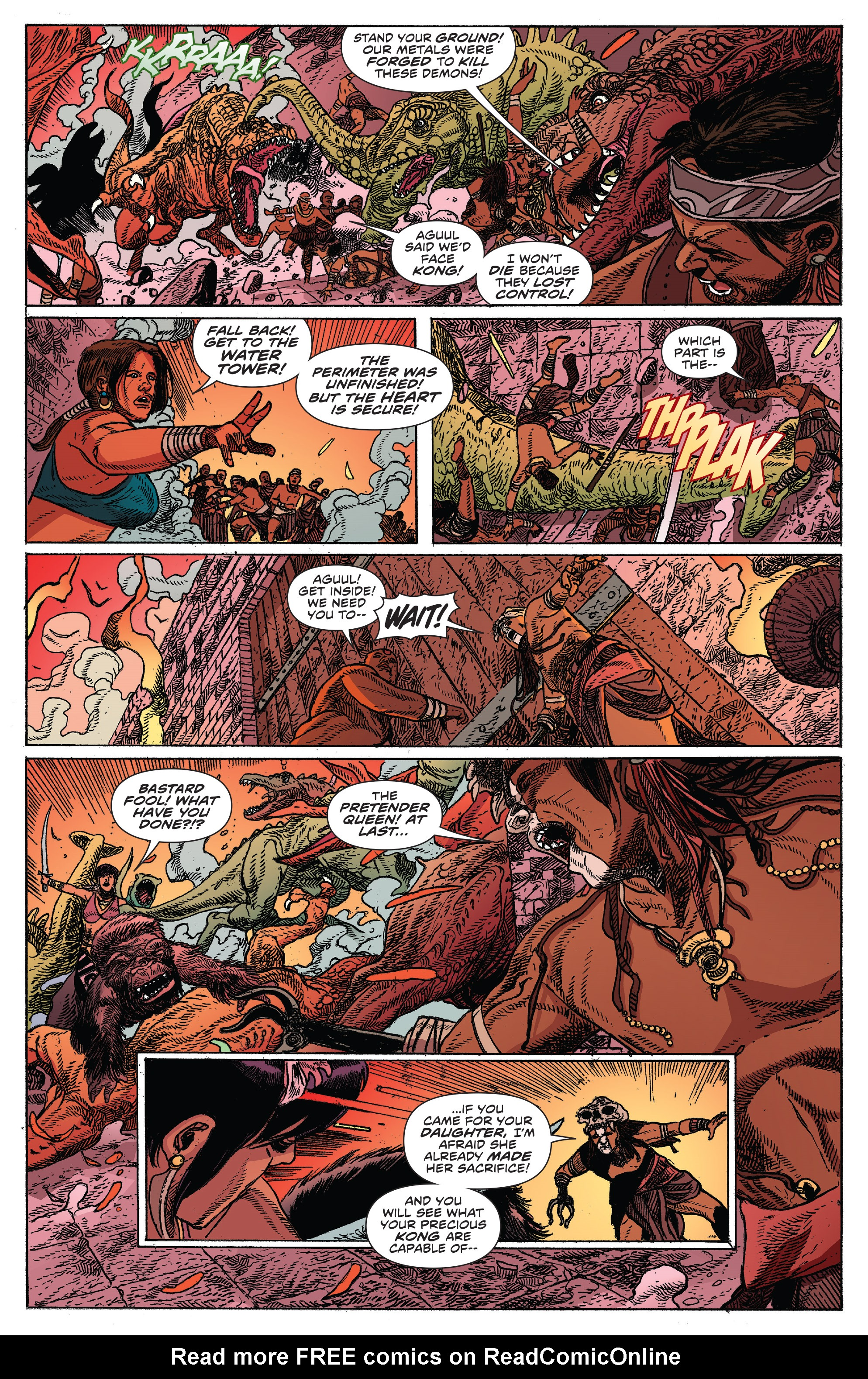 Read online Kong Of Skull Island comic -  Issue #12 - 5