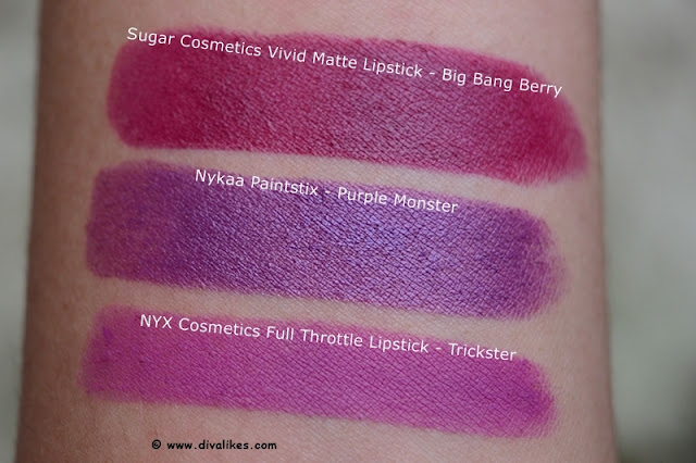 NYX Full Throttle Lipstick Trickster