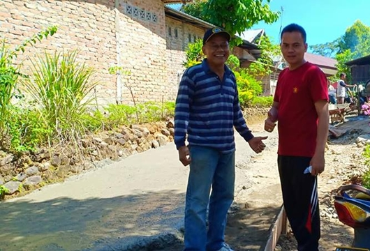 Delma Putra Ajak Masyarakat Goro Membangun Kampung Halaman