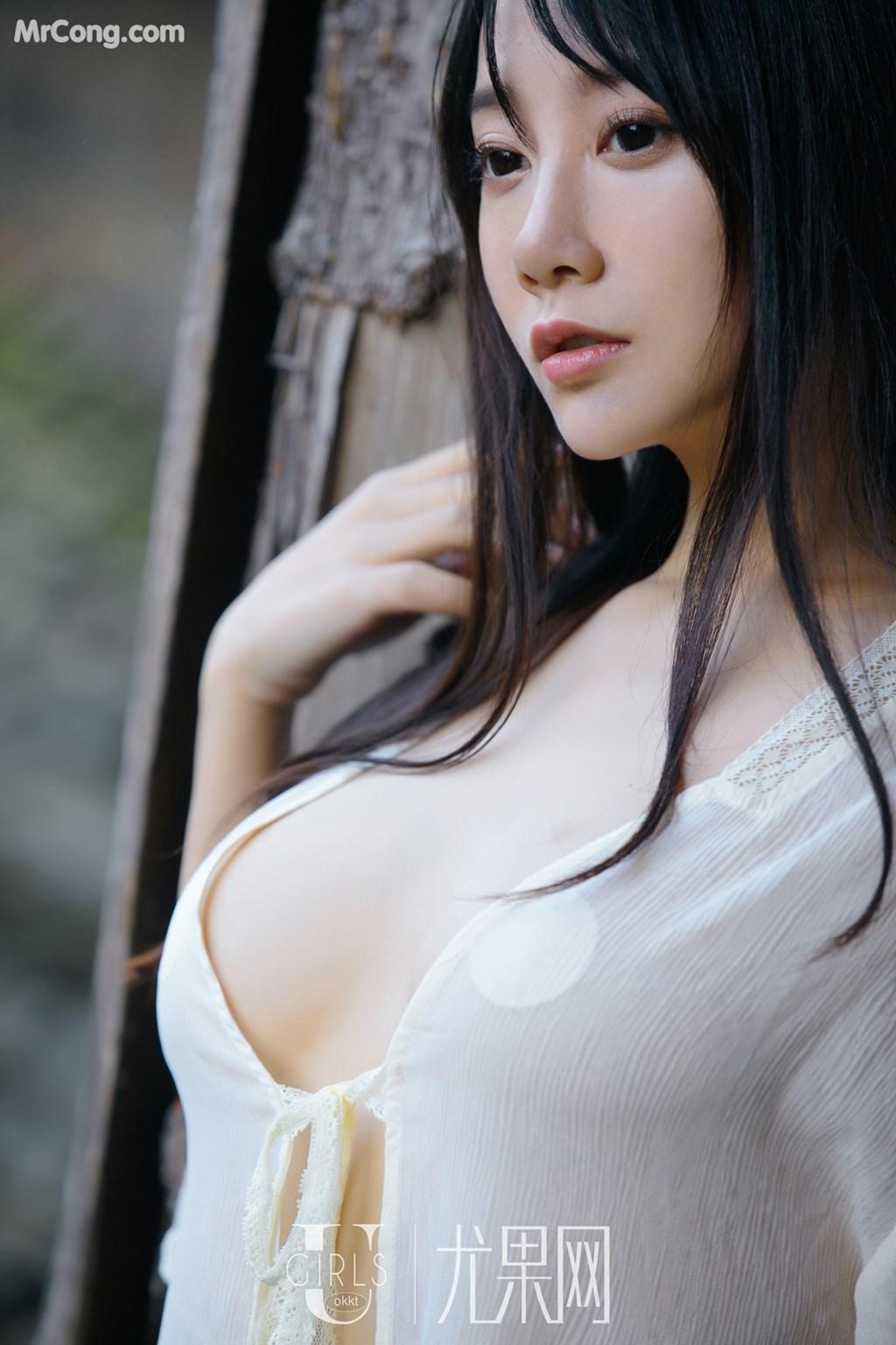 Image UGIRLS-U318-He-Jia-Ying-MrCong.com-045 in post UGIRLS U318: Người mẫu He Jia Ying (何嘉颖) (66 ảnh)