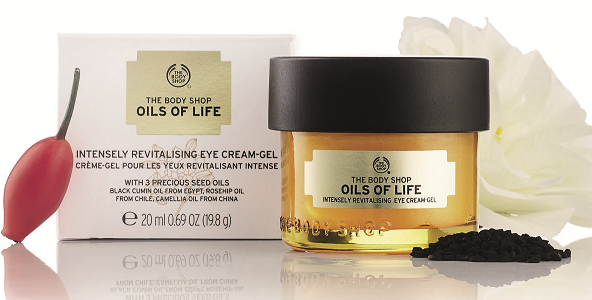 The Body Shop Oils of Life Intensely Revitalising Eye Cream Gel