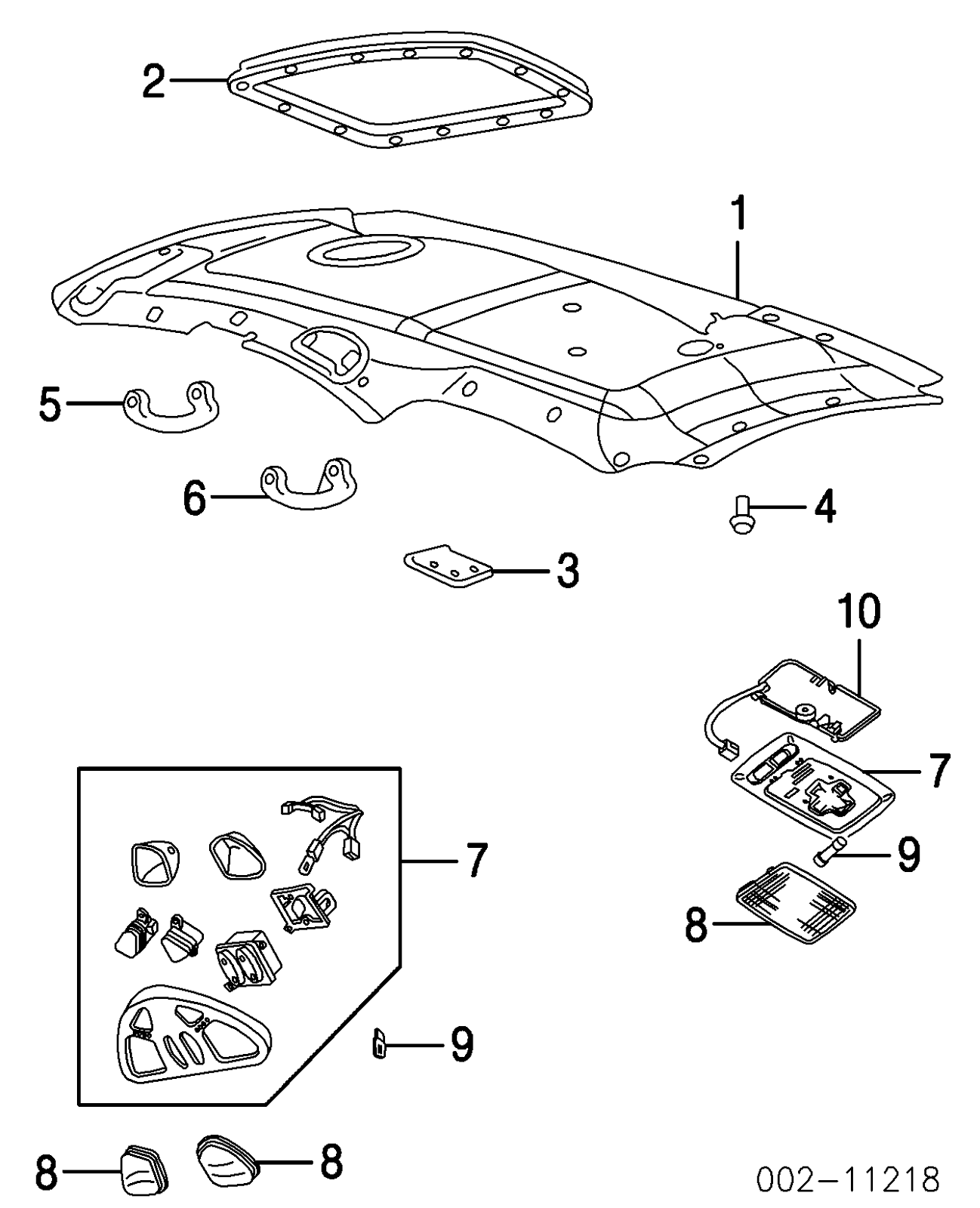 Ford Taurus Roof