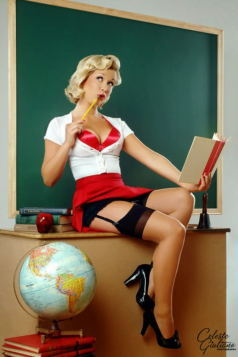 The Vulgar Curmudgeon Hot For Teacher-5177