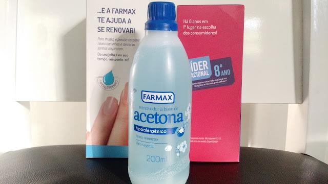 Removedor a base de acetona farmax