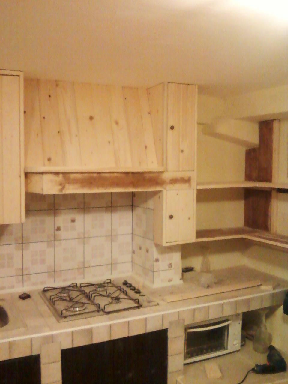 Ante In Legno Per Cucina In Muratura. Cucina Muratura Misura ...