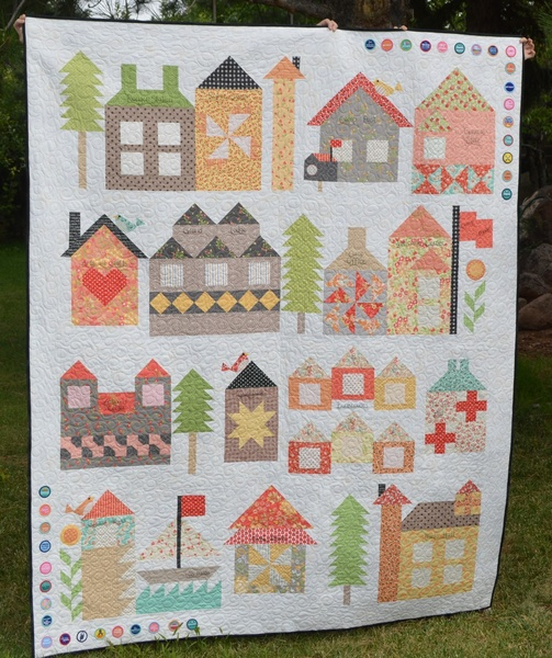 Moda Be My Neighbor Quilt Free Pattern