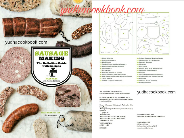 Sausages making tutorial, sausages cook book, how to make definitive sausages cook book