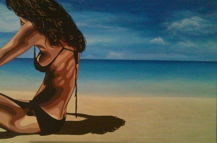 Граница между графикой и живописью. Wojciech Urbanczyk