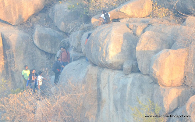 hiking at peerancheru boulders with ghac