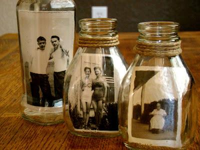 Photos in Jars