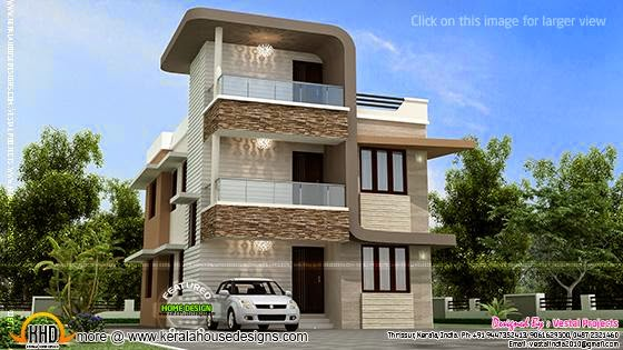 Small double storied house