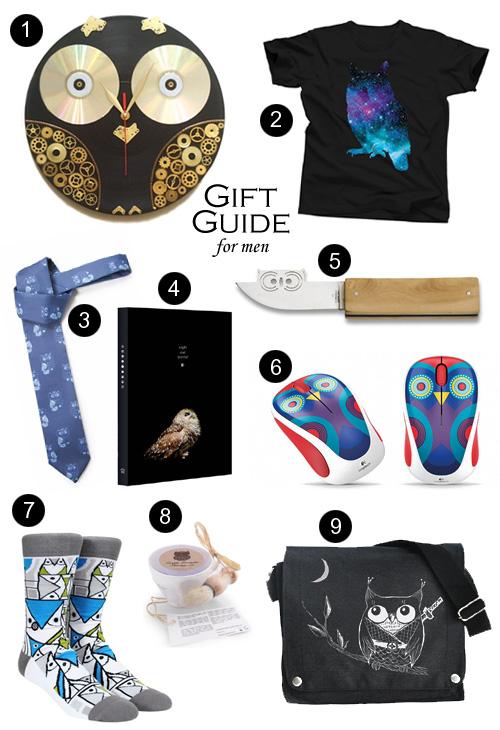 My Owl Barn Gift Guide 2015 For Men