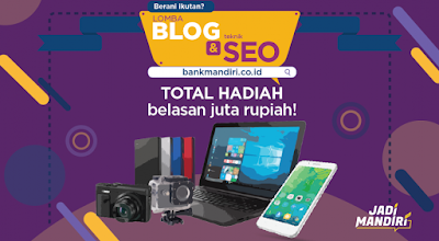 lomba blog seo bank mandiri