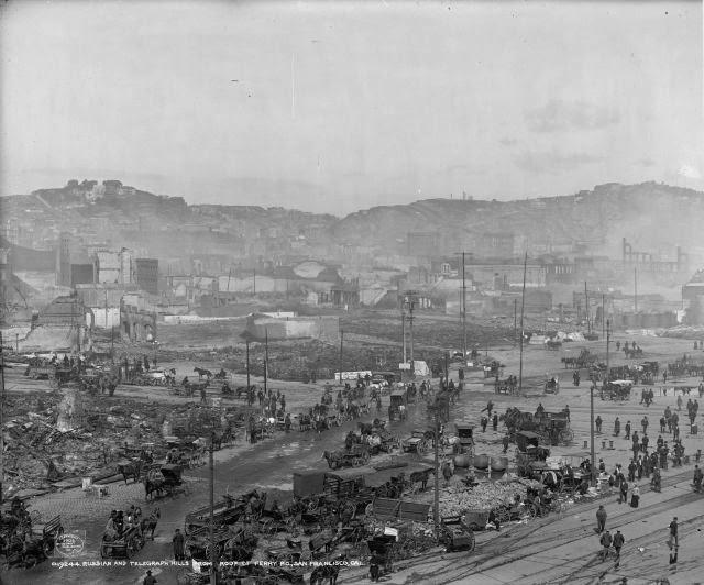 Russian Hill Telegraph San Francisco earthquake 1906 randommusings.filminspector.com