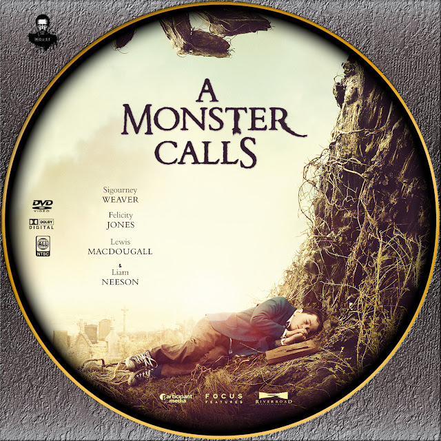 Label DVD A Monster Calls