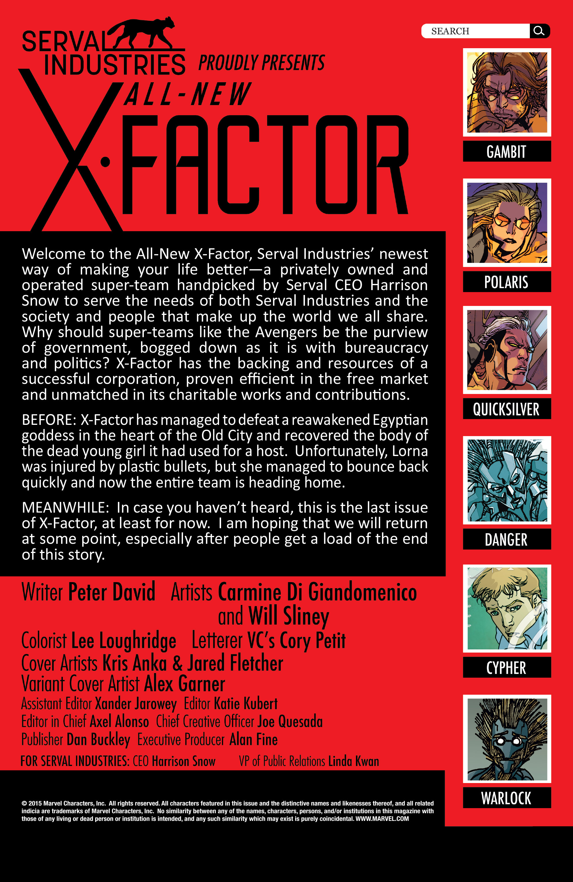 Read online All-New X-Factor comic -  Issue #20 - 2