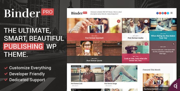 Binder PRO Publishing Multipurpose WP Theme