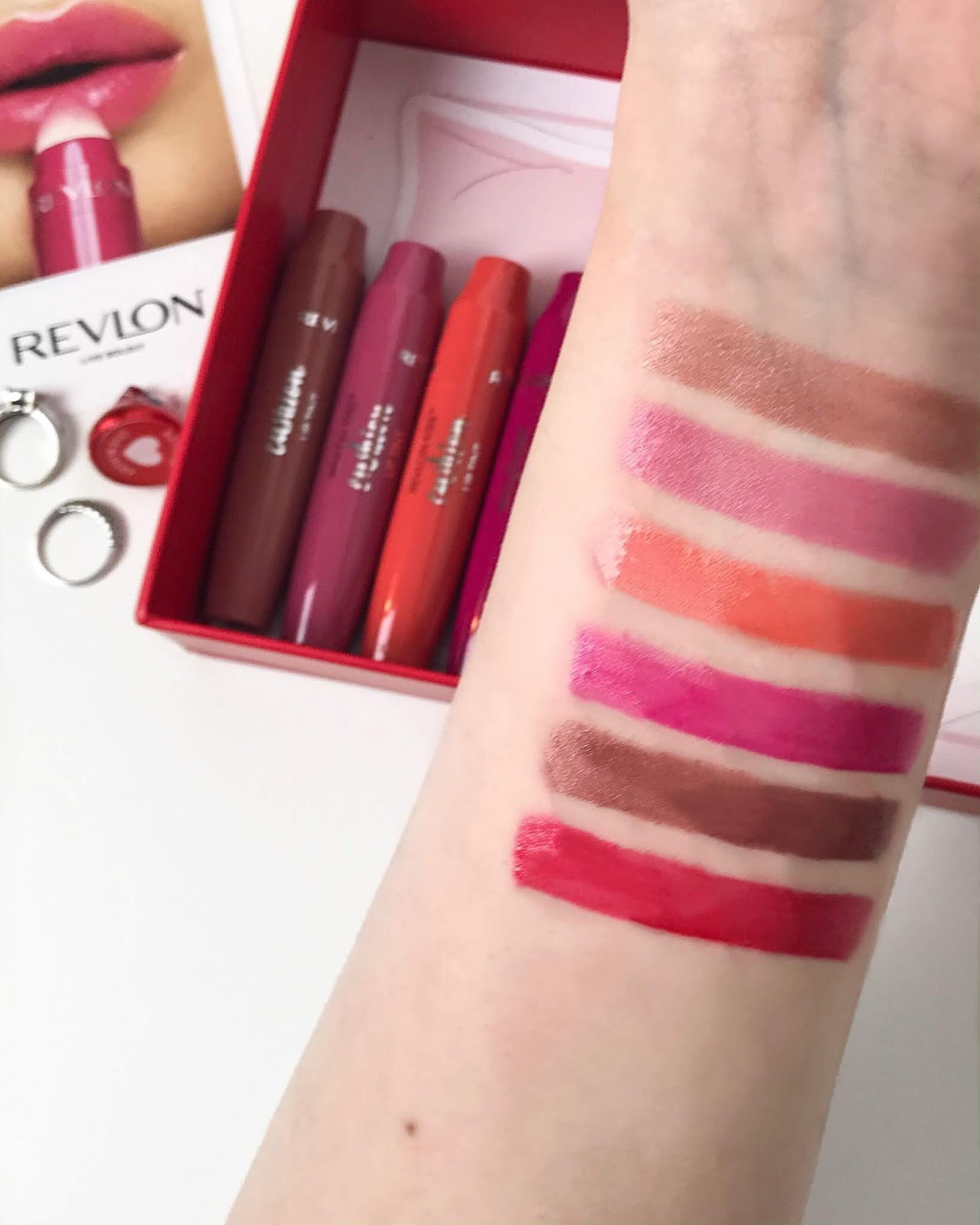 revlon kiss cushion lip tints swatches