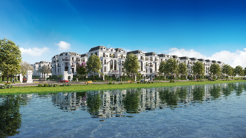 Elegant Park Villa tái hiện chất lãng mạn Pháp tại mỗi biệt thự