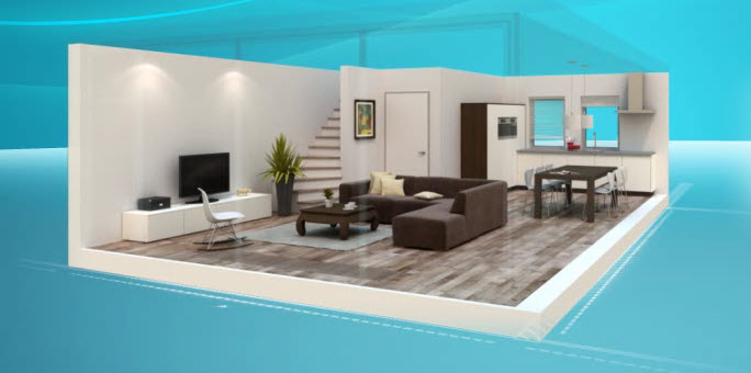 Dise o interiores 3d online for Programa para decorar interiores