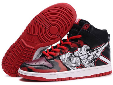 0283f5d0f4 Horror Nikes Dunk SB Friday the 13th Jason Voorhees Men Shoes ...