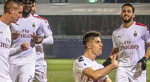 ميلان يحقق فوز صعب وهام على فريق بولونيا في الجولة 15 من الدوري الايطالي