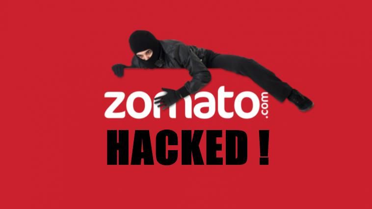 Popular restaurant search company Zomato Hacked, 17 Million Accounts