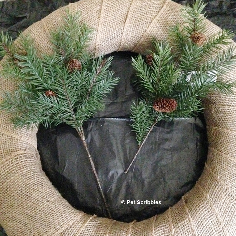 Coastal Winter Wreath