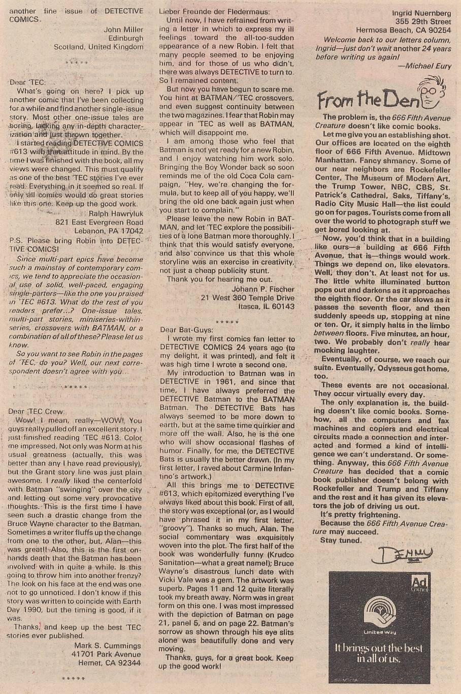 Detective Comics (1937) 617 Page 23