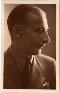 Sindelar in borghese, 1933.