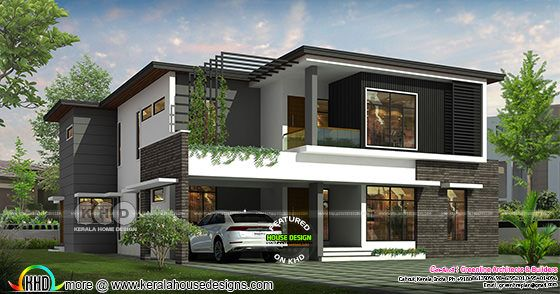 5 bedroom modern contemporary home architecture design