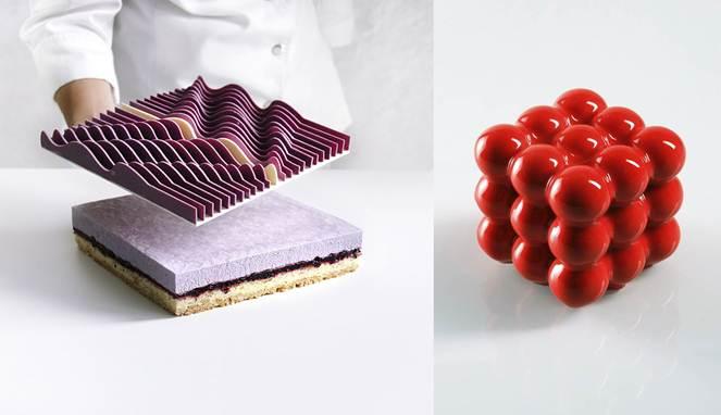 Saat Arsitek Membuat Kue, Bentuknya Mengjutkan