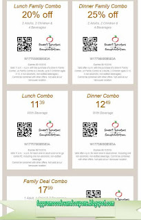 Free Printable Sweet Tomatoes Coupons