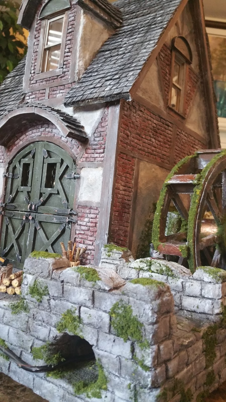 Greggs Miniature Imaginations Water Mill House