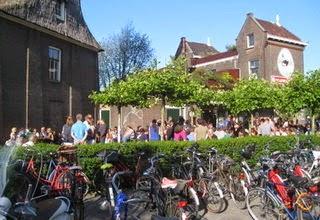 De gooyer windmill Brouwerij 't IJ amsterdam
