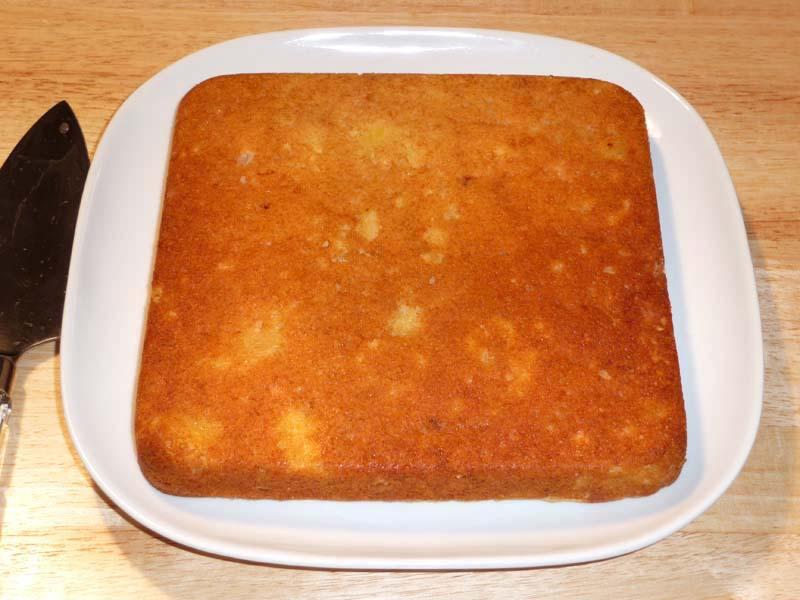 Eggless Pineapple Cake Recipe With Fresh Pineapple