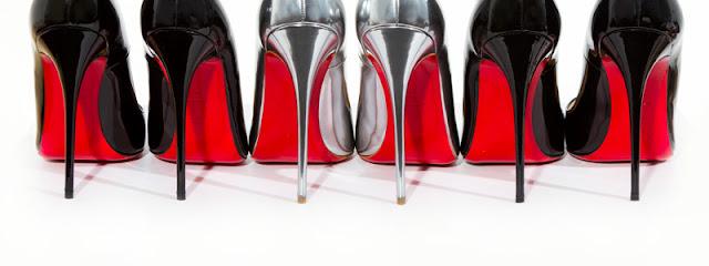 SZAŁ # buty Christian Louboutin