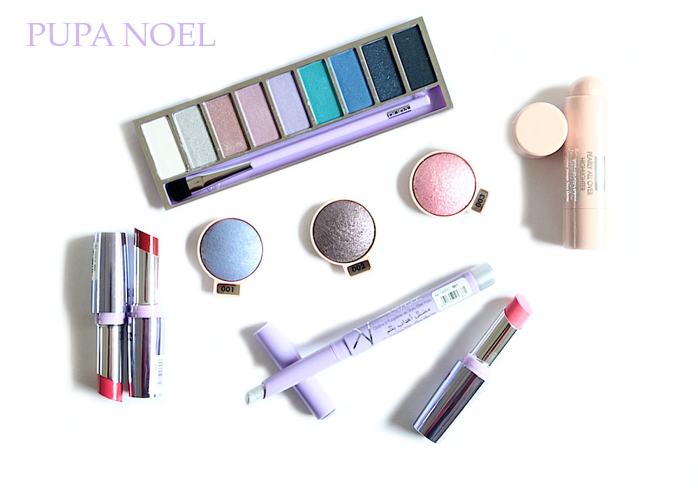 pupa snow queen collection maquillage noel 2014 avis test swatches