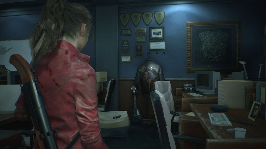 resident evil 2 remake claire redfield screens 1