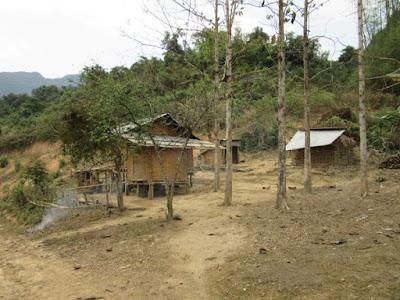 Aldea BanNa, cerca de Muang Ngoi, Laos